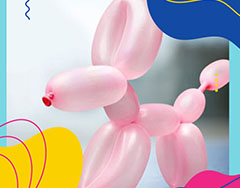 Balloon Modelling & walkabout puppets